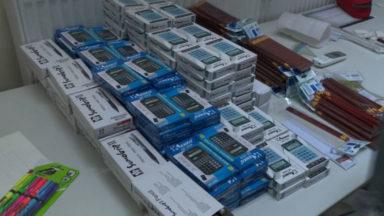 Anderlecht : des kits scolaires sont distribuées aux familles dans le besoin