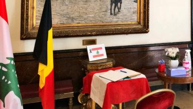 Explosion à Beyrouth : un registre de condoléances ouvert à l'hôtel de ville de Bruxelles