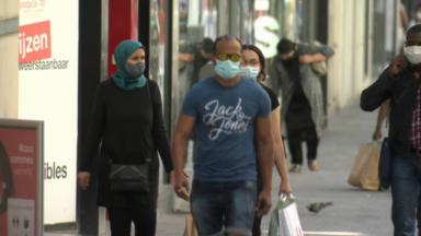Le port du masque sera obligatoire à Bruxelles une fois franchi le seuil des 50 cas par 100.000 habitants