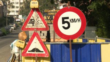 Forest : une rue limitée à… 5 km/h