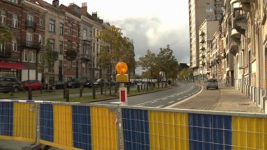 Forest : circulation interdite avenue Albert après la chute d'un morceau de façade