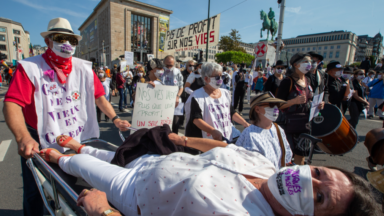 La Grande Manifestation de la santé battra le pavé bruxellois samedi
