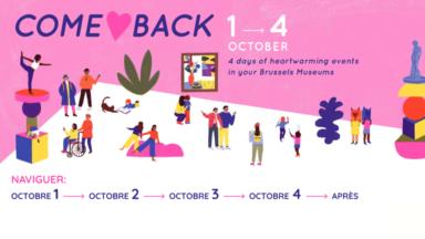 """Les musées bruxellois font leur """"Come Back"""" lors d'un long week-end d'évènements culturels"""