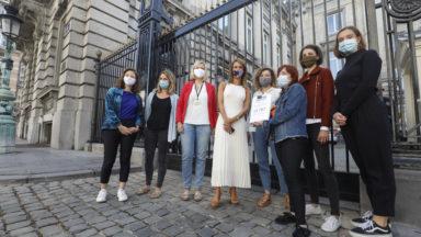 Dépénalisation de l'IVG : des pétitionnaires pressent les députés de passer au vote à la Chambre