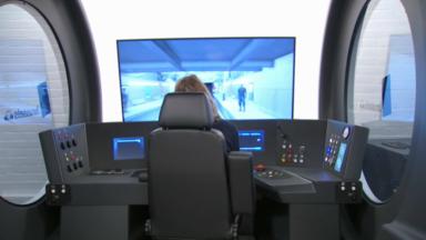 Les chauffeurs métro de la STIB maintenant formés sur un nouveau simulateur