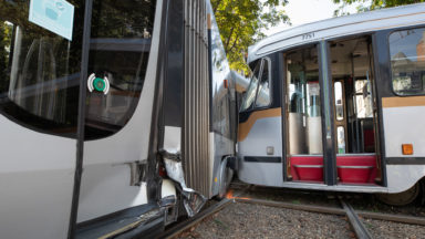 Le nombre d'accidents impliquant un tram de la Stib diminue