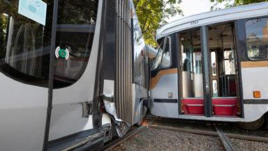 Le nombre d'accidents impliquant un tram de la Stib diminue