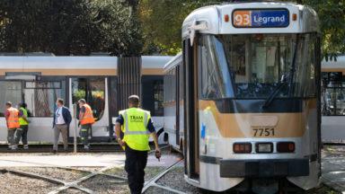Deux trams sont entrés en collision ce vendredi à Bruxelles : 7 blessés légers