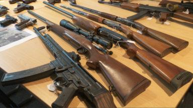 La police fédérale saisit un impressionnant stock d'armes illicites