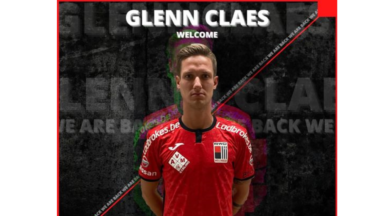 Glenn Claes rejoint le RWDM en provenance de Virton