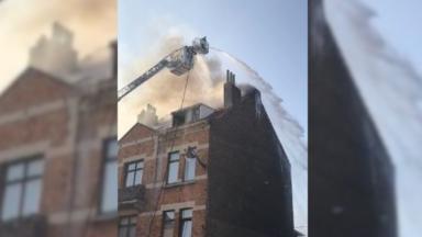 Anderlecht : un incendie s'est déclaré dans une maison, rue de Birmingham