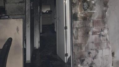 Incendie à Laeken lundi soir  : une personne hospitalisée