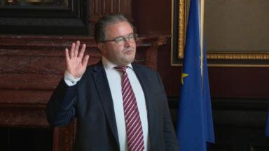 Berchem-Ste-Agathe : le nouveau bourgmestre Christian Lamouline a prêté serment