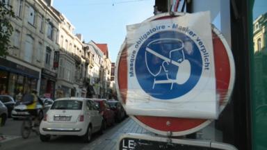 Port du masque : vers une harmonisation des règles communales à Bruxelles