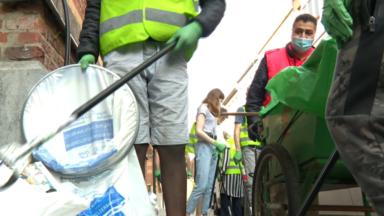 Le World Cleanup Day fait escale à Bruxelles