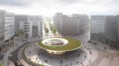Futur rond-point Schuman : les agences régionales veulent un projet plus végétal