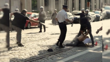 Enquête ouverte à Bruxelles au sujet d'un photographe ayant utilisé un spray au poivre