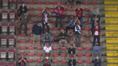 Les supporters du RWDM ont pu retrouver le stade Edmond Machtens