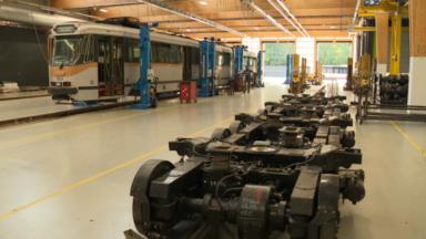 STIB : à la découverte du nouveau centre de maintenance, là où les véhicules se refont une beauté
