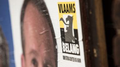 """Le Vlaams Belang bloque la rue de la loi car elle """"bloque la Flandre"""""""