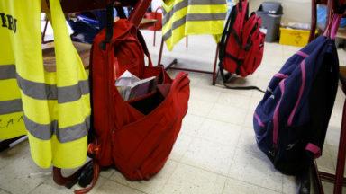 Arrêt de travail dans trois écoles bruxelloises pour réclamer une fermeture dès lundi