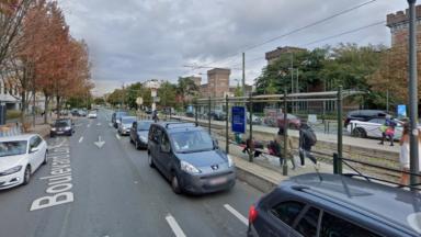 Un rail de tram cassé a provoqué une interruption du trafic sur les lignes de tram 7 et 25