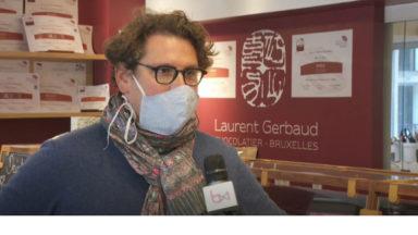 Laurent Gerbaud chocolatier de l'année pour Bruxelles