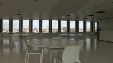 Brussels Expo et le Palais des congrès désespérément vides