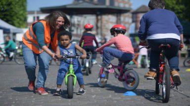 Nouvelle vélothèque à Saint-Gilles destinée aux enfants