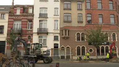 Schaerbeek: les habitants de l'avenue du Diamant ne peuvent toujours pas regagner leur domicile
