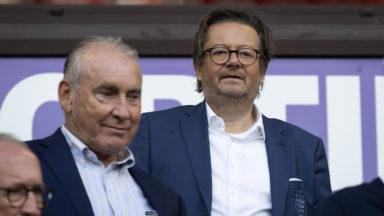 Johan Beerlandt démissionne de son poste d'administrateur du RSC Anderlecht