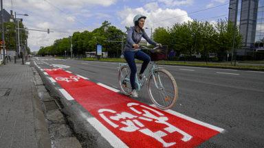 Bruxelles Mobilité lance un appel à évaluation des nouvelles pistes cyclables de la région