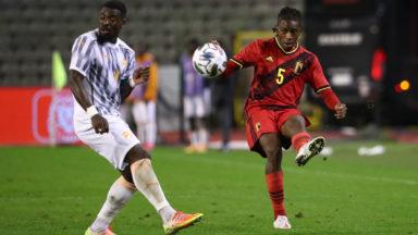 La Belgique, avec cinq nouveaux Diables, laisse filer une 13e victoire de rang (1-1)