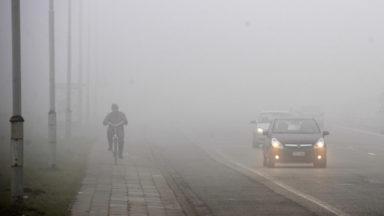 L'IRM lance une alerte jaune au brouillard à Bruxelles et dans le Brabant wallon