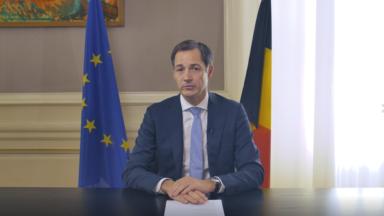 Le Premier ministre Alexander De Croo lance un appel solennel au peuple belge