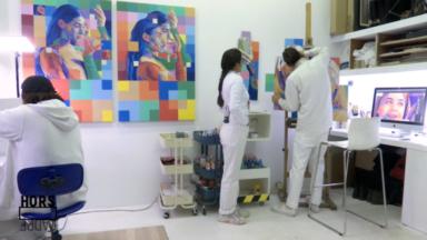 Hors Cadre : rencontre avec Dourone, duo d'artistes urbains aux fresques colorées