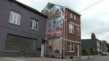 Une nouvelle fresque du parcours BD inaugurée ce mercredi à Haren