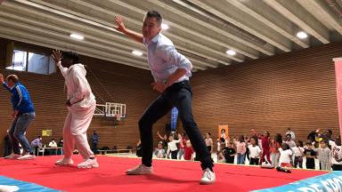 La danseuse Jeny Bonsenge inaugure son école de danse à Bruxelles
