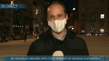 Coronavirus : les nouvelles mesures entrent en vigueur en Région bruxelloise
