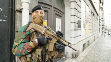 Les militaires progressivement retirés des rues jusqu'en septembre 2021