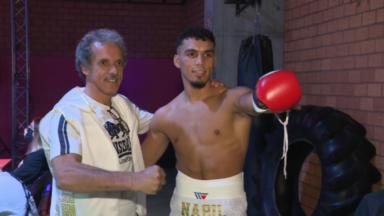 Boxe : le Bruxellois Nabil Messaoudi encore vainqueur par k.o. au premier round