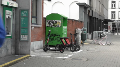 Etterbeek : de nouvelles zones de stationnement pour trottinettes et vélos électriques