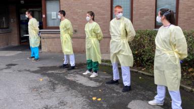 Coronavirus : des militaires en renfort au centre d'hébergement Facere