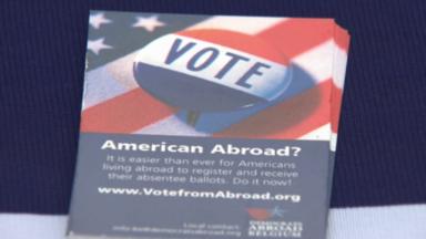 Elections aux USA : les 2000 Américains de Belgique au bout d'une longue campagne