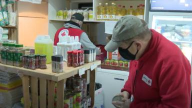 Les bénévoles de la Croix rouge mobilisés en cette période de baisse des températures