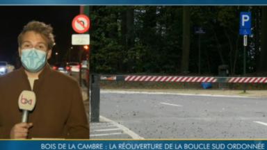 Bois de la Cambre : la Ville de Bruxelles doit rouvrir la boucle sud, ordonne la justice