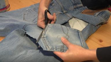 Deux Ixelloises se lancent dans le business du recyclage de vieux tissus