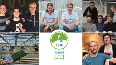 Quatre entreprises bruxelloises lauréates du concours SE'nSE 2020