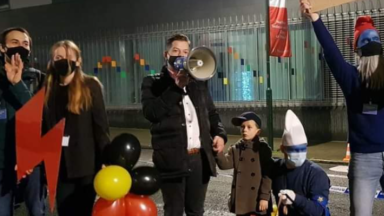 Manifestation à Bruxelles contre le parti ultraconservateur PIS au pouvoir en Pologne