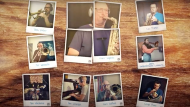 "Le Brussels Jazz Orchestra lance ""stay with us"", un orchestre virtuel avec 43 musiciens"